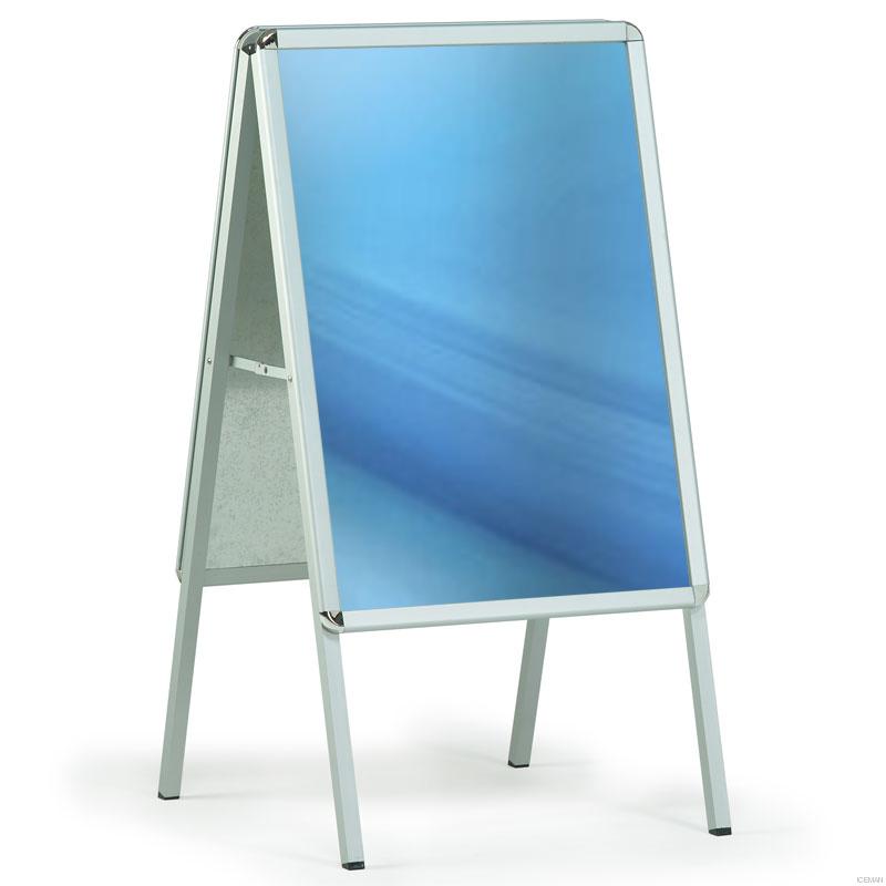 Aluminum outdoor poster frame