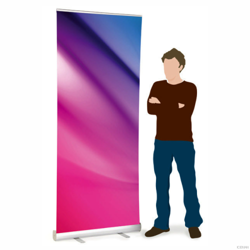 iceman Roll-up banner stand 85x200cm